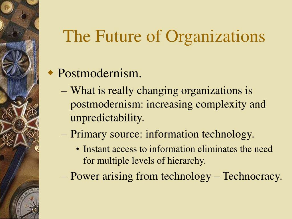 The Future of Organizations