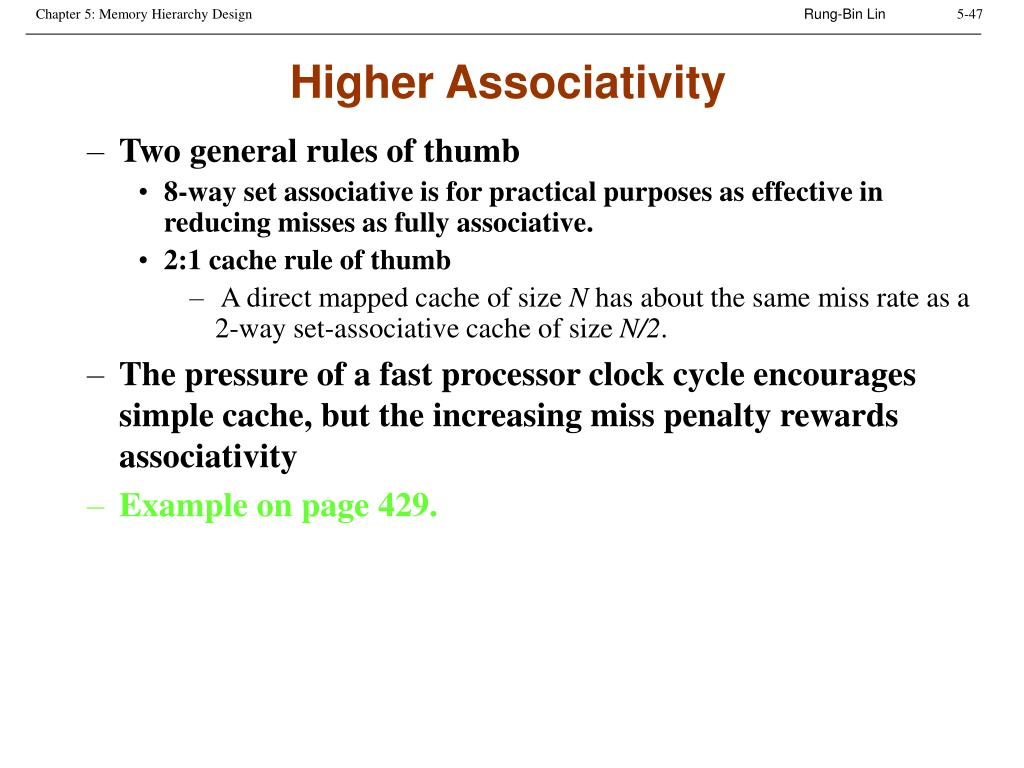 Higher Associativity