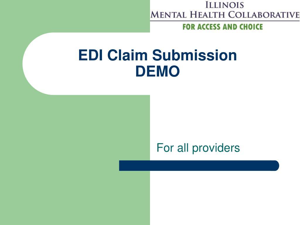 EDI Claim Submission