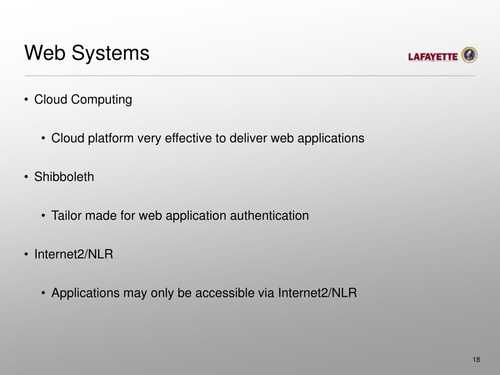 Web Systems