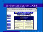 the network network v cbs