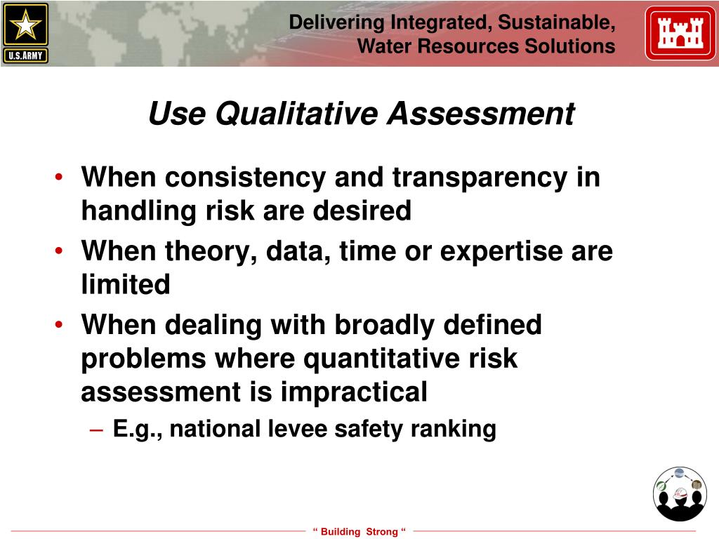 Use Qualitative Assessment