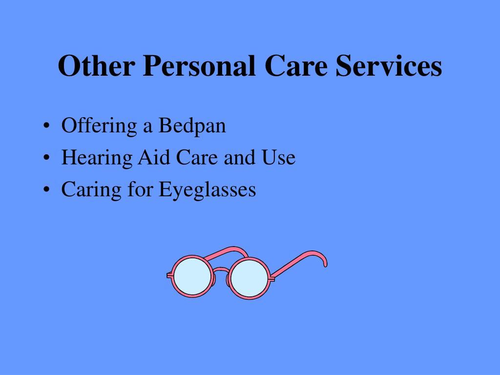 Other Personal Care Services