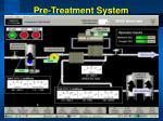 pre treatment system