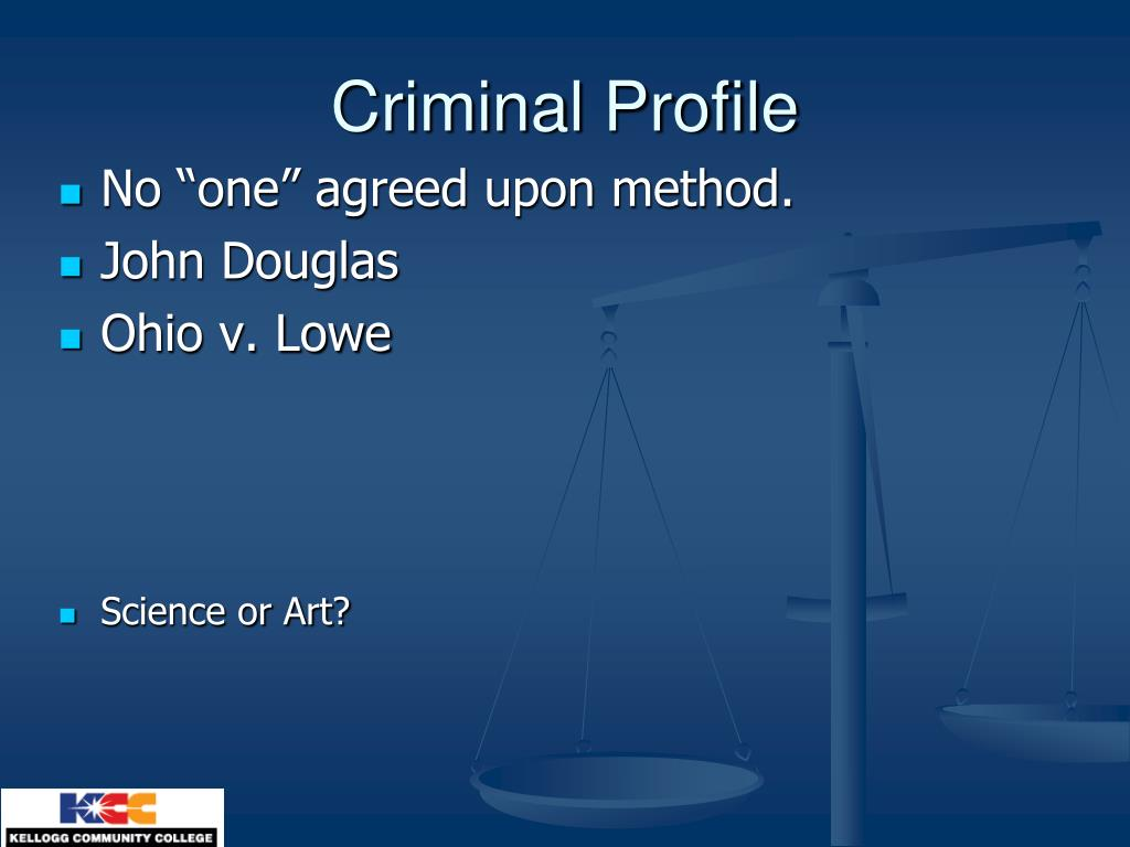 Criminal Profile