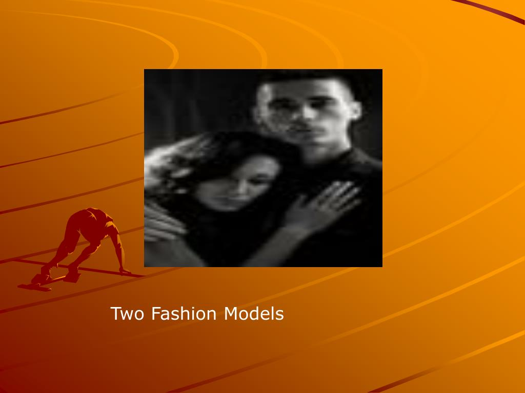 Two Fashion Models