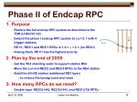 phase ii of endcap rpc