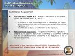 certification requirements 37 cfr 1 4 d 4