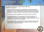power of attorney 37 cfr 1 32 c