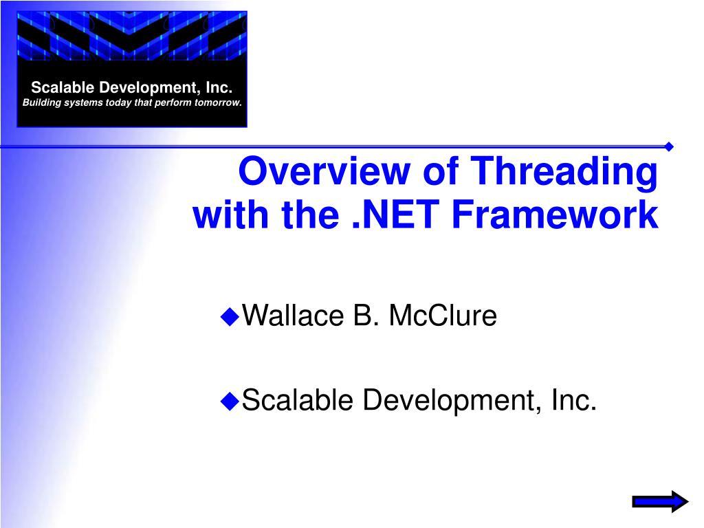 wallace b mcclure scalable development inc