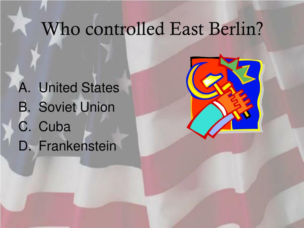 Who controlled East Berlin?