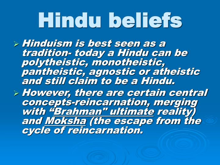 hinduism monotheistic or polytheistic