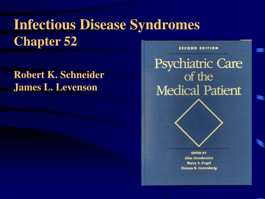 Infectious Disease Syndromes