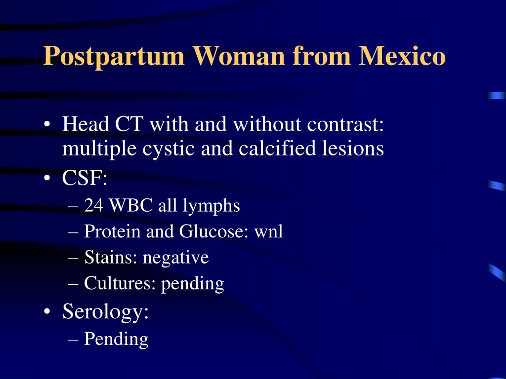 Postpartum Woman from Mexico