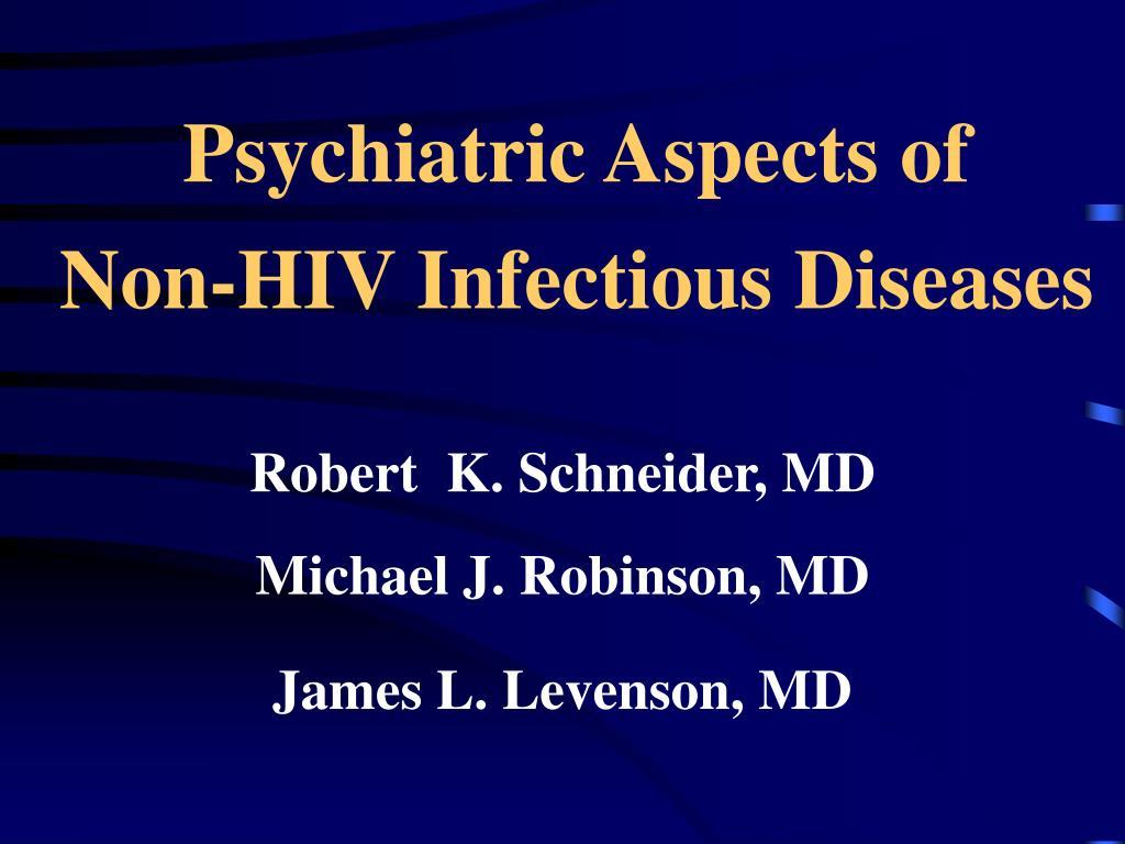 Psychiatric Aspects of
