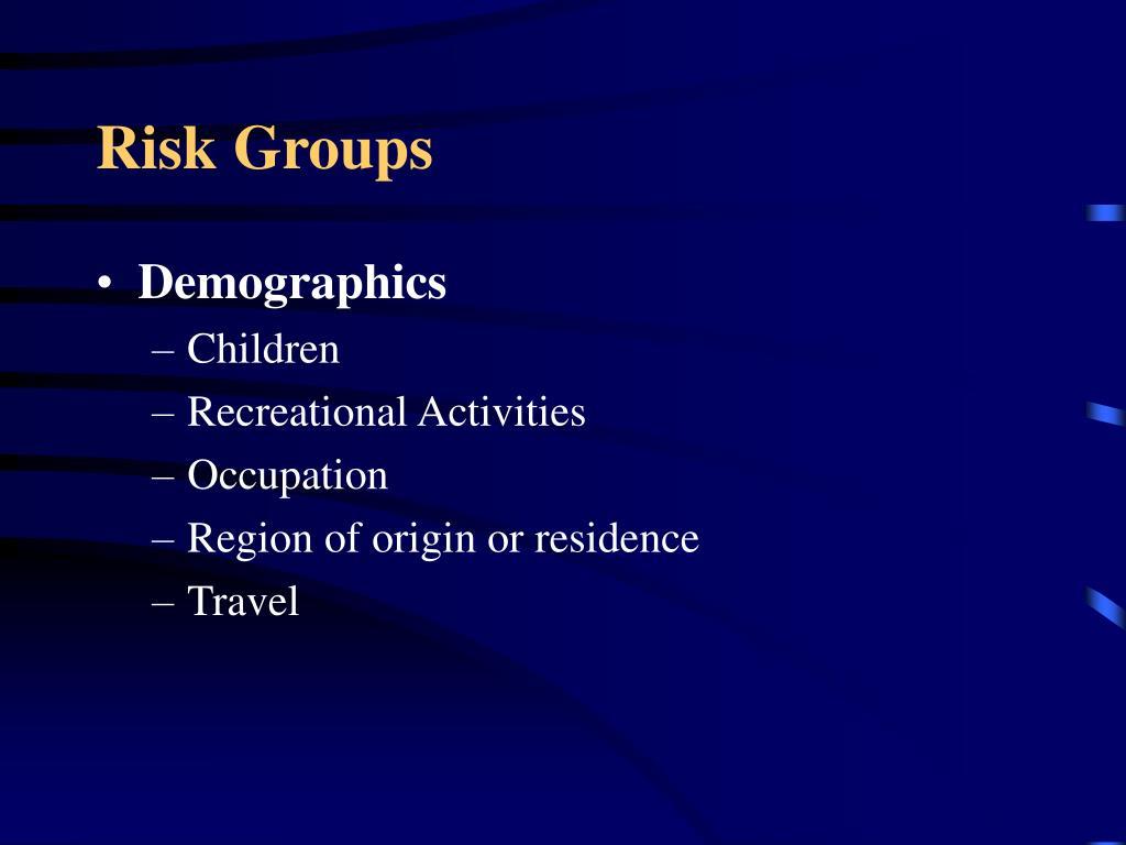 Risk Groups