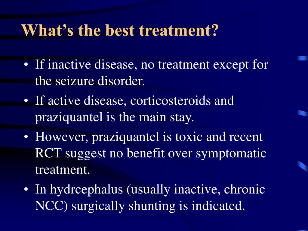 What's the best treatment?