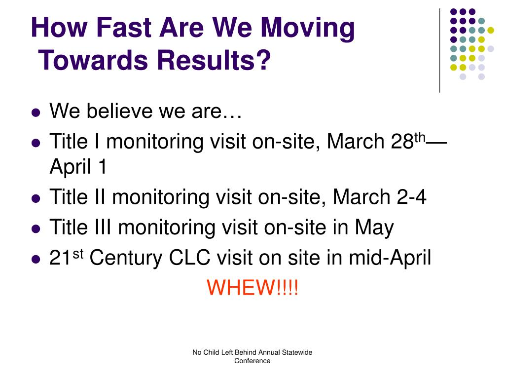 How Fast Are We Moving