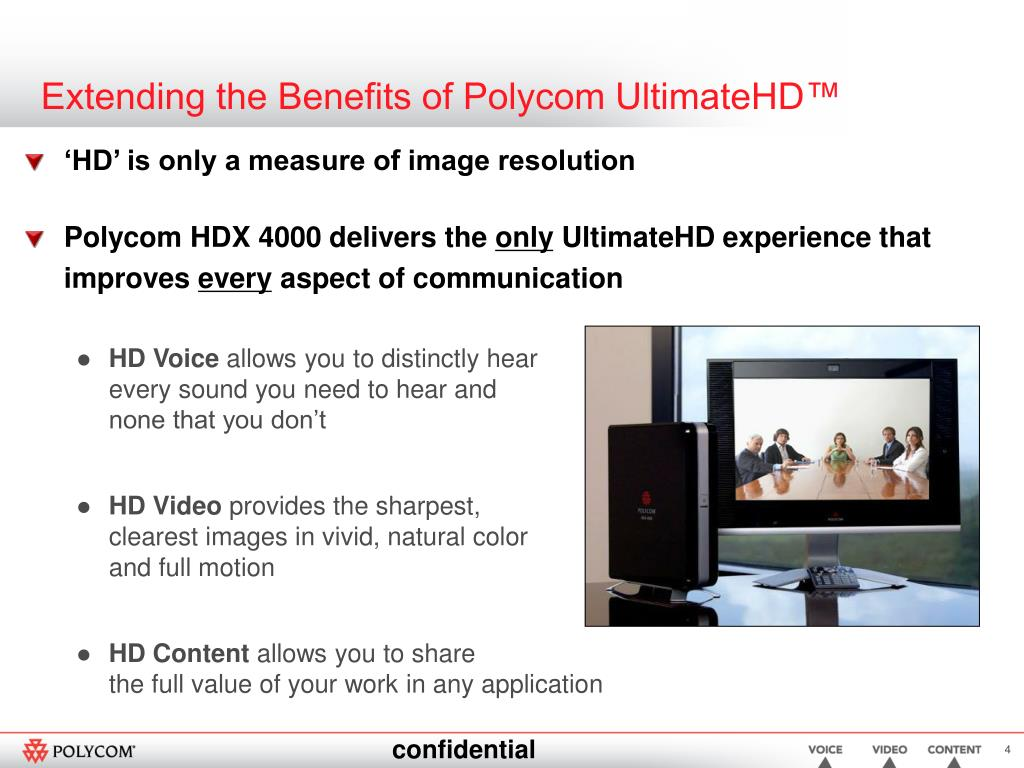 Extending the Benefits of Polycom UltimateHD™