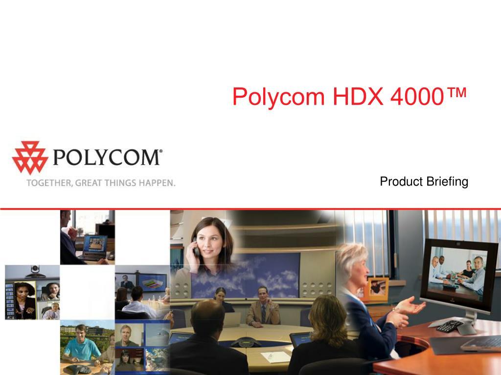 polycom hdx 4000 l.