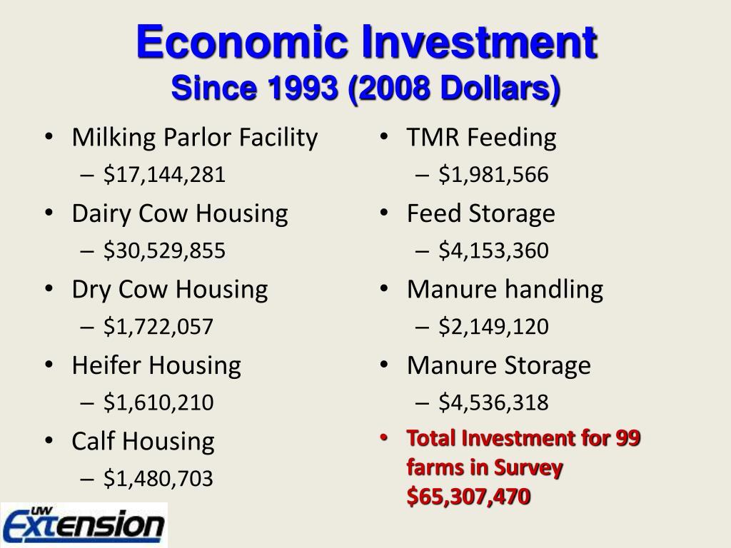 Economic Investment