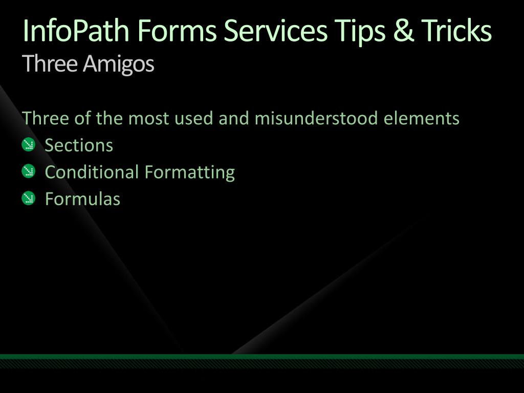 InfoPath Forms Services Tips & Tricks