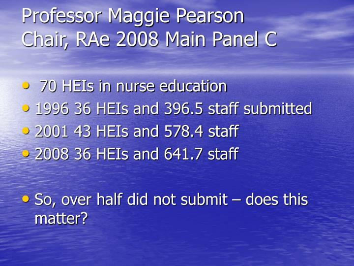 Professor Maggie Pearson