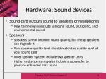 hardware sound devices13