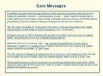 core messages40