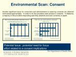 environmental scan consent