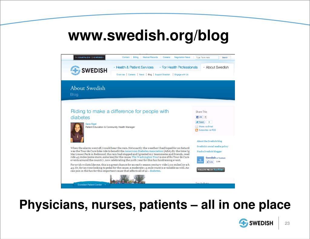 www.swedish.org/blog