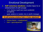 emotional development18