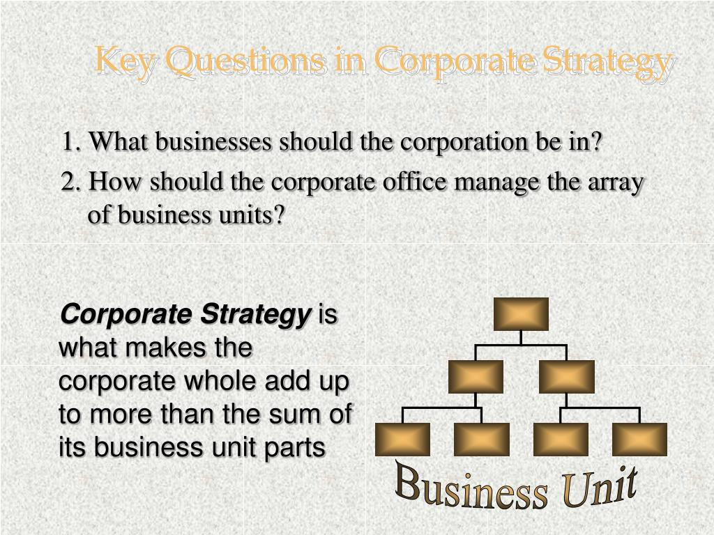 Business Unit