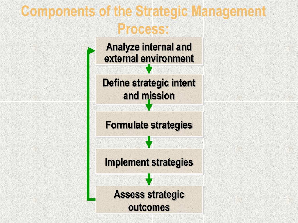 Components of the Strategic Management Process: