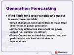 generation forecasting14
