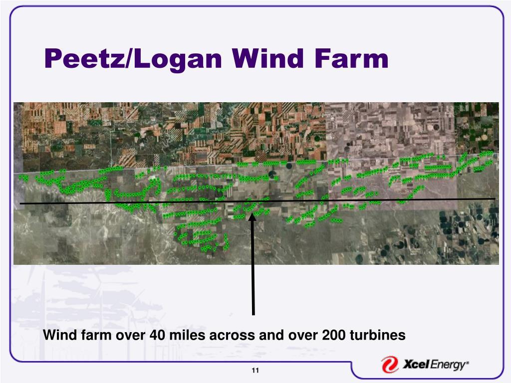 Peetz/Logan Wind Farm