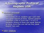 a demographic profile of hispanic usa25