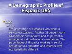 a demographic profile of hispanic usa31