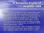 a religious profile of hispanic usa34