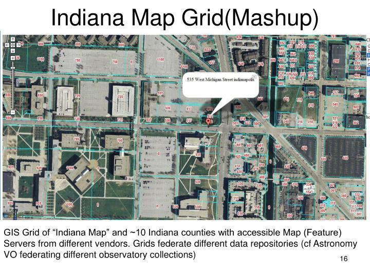 Indiana Map Grid(Mashup)