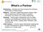 what s a partner