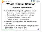whole product solution competitive differentiation15