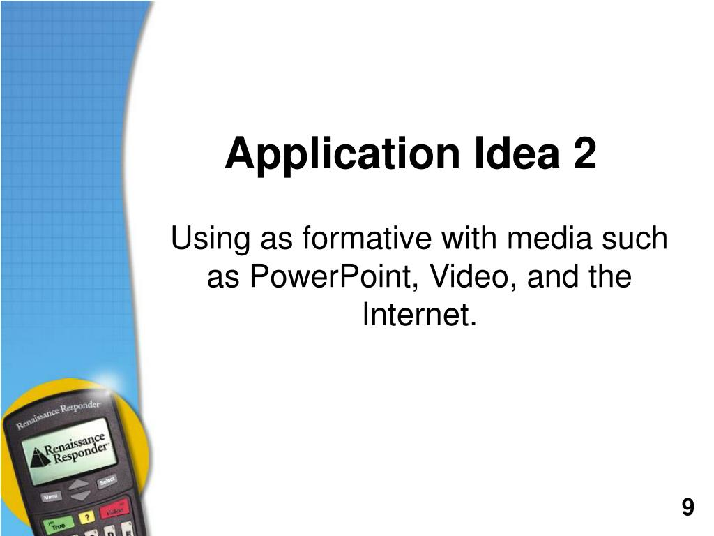 Application Idea 2