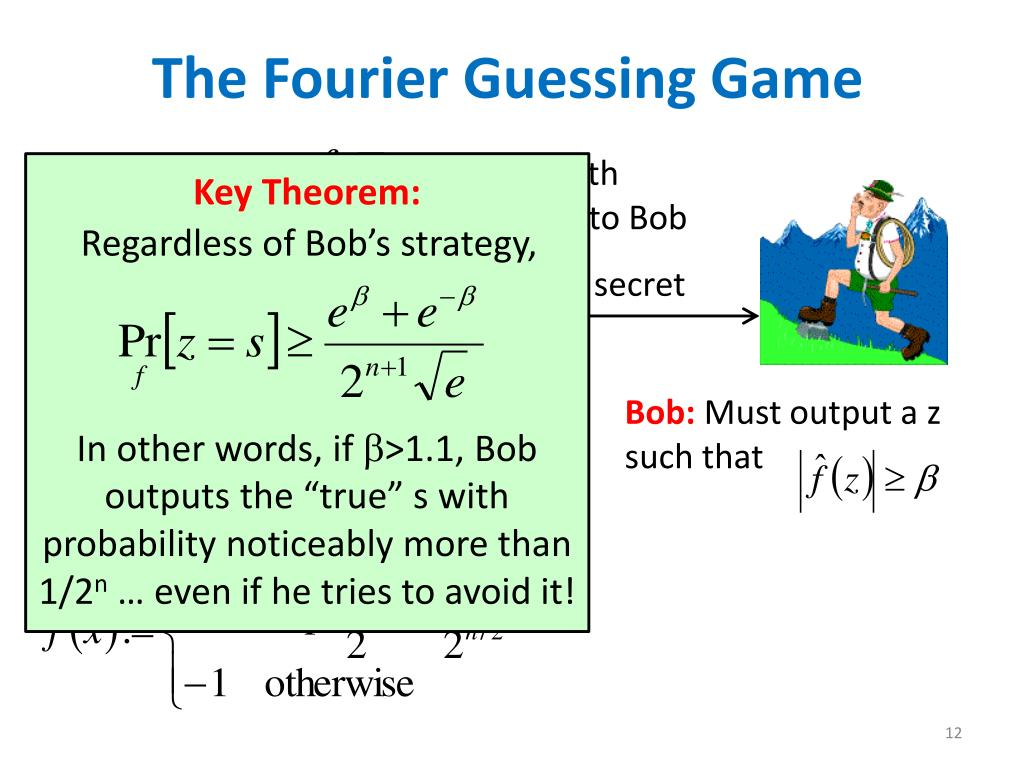 The Fourier Guessing Game