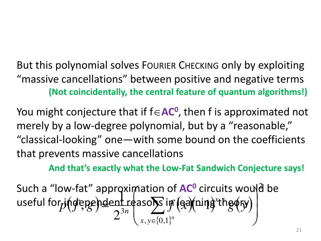 But this polynomial solves