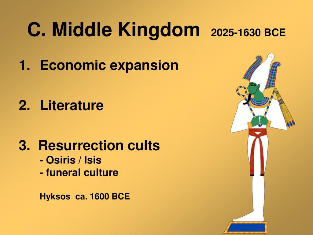 C. Middle Kingdom