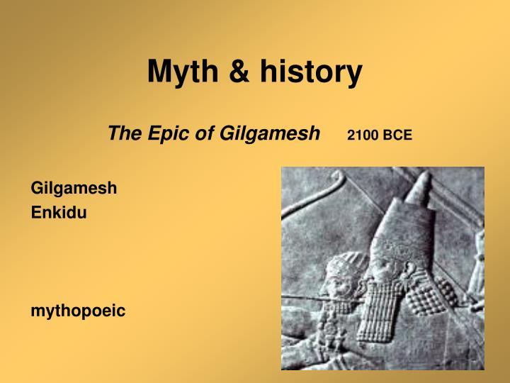 Myth history