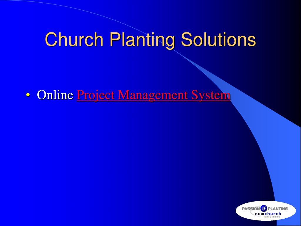 Church Planting Solutions