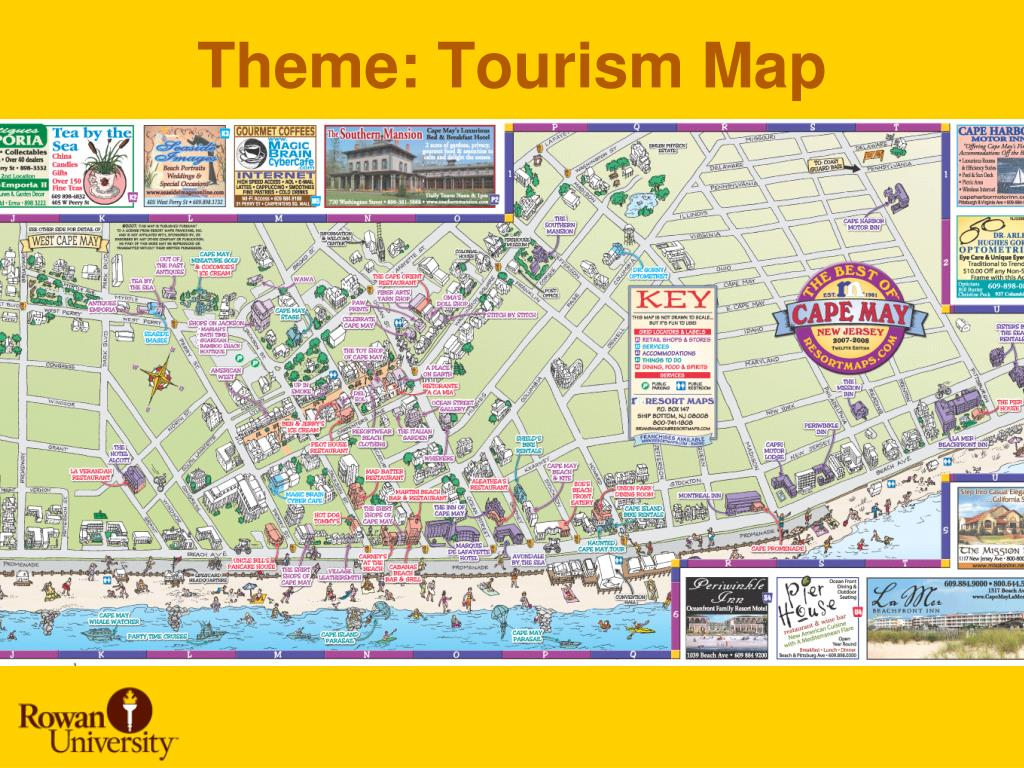 Theme: Tourism Map