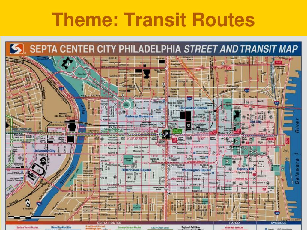 Theme: Transit Routes
